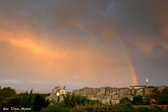 i colori di Grotte di Castro (oscar.martini_51) Tags: arcobaleno natura grotte di castro tuscia viterbo chiesa santuario san giovanni madonna del suffragio