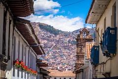 Cusco streets.