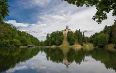 lake & castle - Trakošćan (27) (Vlado Ferenčić) Tags: lakecastle laketrakošćan castles castleschurches castletrakošćan vladoferencic hrvatska zagorje hrvatskozagorje vladimirferencic croatia sky clouds nikond600 nikkor173528