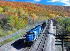 CR 6450                    10-17-85 (C E Turley) Tags: railroad railway trains conrail cr el sd402