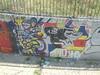 born free (en-ri) Tags: k2 k3 ks verde bianco nero rosso giallo reggio emilia wall muro graffiti writing facce faces visi volti