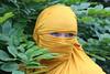 a veiled smile (Fia by Marv) Tags: woman eyes verhüllt veil veiled verschleiert augen oriental tücher schleier frau portrait scarf colour niqab hijab vividstriking femme mujer donna ojos yeux occhi voile velo