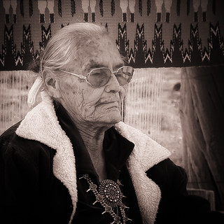 Susie Yazzie, Matriarch, Monument Valley