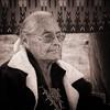 Susie Yazzie, Matriarch, Monument Valley (1mpl) Tags: canoneos20d arizona monumentvalley navajonation susieyazzie travelphotography bw monochrome niksilverefexpro