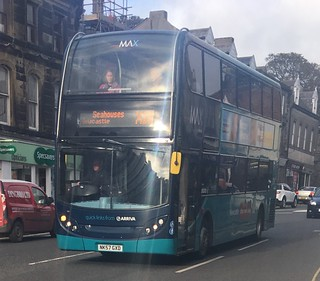 Arriva North East 7511 NK57 GXD (17.10.2017)