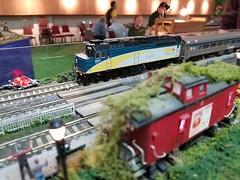 VIA 6431 (Trains By Perry) Tags: hoscale ho hotrak viarailcanada via f40ph2d 2017layouttour