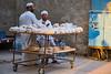 Two Men selling Bread (.hd.) Tags: man market selling hurghada egypt street streetlive arabic caftan tradition streetvendors streetsellers pita bread hurghada2017 addahar