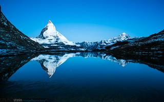 Blue Hour at Matterhorn