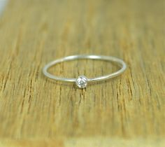 **Free Domestic Ship (alaridesign) Tags: free domestic shipping for all orders over 50 use coupon code shipfree50tiny sterling silver cz diamond mothers ringdainty rustic original tiny 2mm di handmade alari importedfrometsy importedfrometsy1704 jewelry ring