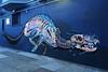 Canine Distemper by Nychos (wiredforlego) Tags: graffiti mural streetart urbanart aerosolart publicart nychos sanfrancisco california sfo horror dog