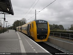 "DM90 ""Buffel"" op Station Kampen (Lanchid) Tags: ns nederland kampen zwolle kamperlijntje dm90 buffel"
