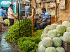 That's a huge pile of curry leaf! (debra booth) Tags: 2017 grandbazaar india pondicherry pudicherry puducherry copyrighted wwwdebraboothcom