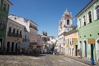 Salvador de Bahia, Brazil - Largo do Pelourinho