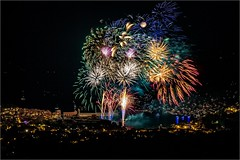 Firework - Feu d'artifice (jyleroy) Tags: canon collioure eos700d pyrénéesorientales feudartifice nocturne nuit paysages rebel t5i firework finalefirework nationalgeographicgroup ngc