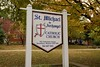 St. Michael the Archangel Catholic Church sign 3 (geerlingguy) Tags: jeff geerling stl catholicstl catholic parish saint michael archangel church st louis