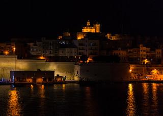 Valletta, Malta in the Evening