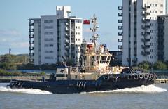Svitzer Mallaig (0) @ Gallions Reach 22-08-17 (AJBC_1) Tags: riverthames gallionsreach northwoolwich newham londonboroughofnewham eastlondon london england unitedkingdom uk ship boat vessel shipsinpictures dlrblog ©ajc svitzer tug tugboat nikond3200 damen damenshipyardsgroup svitzermallaig