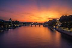 Paris is burning (IzTheViz) Tags: sunset seine paris toureiffel pontneuf variotessartfe41635 a7r ilce7r sonya7r