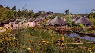 Village au parc  Pairi Daiza.