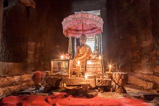 The Bayon Temple Buddha