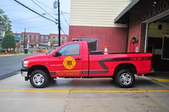 Slackwood Volunteer Fire Company Utility 21 (Triborough) Tags: nj newjersey mercercounty lawrencetownship lawrenceville svfc sfc slackwoodvolunteerfirecompany firetruck fireengine utility utility21 dodge ram 2500
