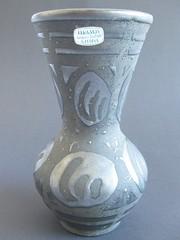 "Keramos Carstens Austria ""Ankara"" (sticknobills) Tags: black ankaravase by keramos austrian carstens pottery austria ankara"