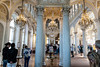 Hermitage Gallery (swordscookie back and trying to catch up!) Tags: russia stpetersburg hermitagemuseum italian galleries ballroom fittings gold chandelier cutglass paintings gates filigree statue
