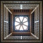 Ben Youssef Madrasa ceiling