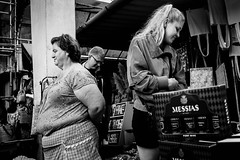 Bolhão Market (Alberto Pérez Puyal) Tags: 2017 bolhão alberto black bolhao buy elder market messias monochrome old oporto perez porto portugal puyal traditional white women young