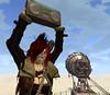 Hot Tin Roof18-Aposiopesis (DJ) (grady.echegaray) Tags: thewastelands postapocalyptic desert sanddunes tinroof slfashion slstyle secondlife avatar