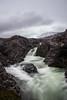 Moody Greenlandic Stream (shotthemessenger) Tags: stream river long exposure greenland disko island clouds moody gray