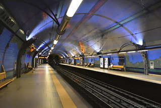 Parque Metro Station, Lisbon