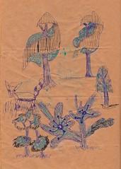 foxontherun (jeannine laura) Tags: inktober scribble funlandscapes