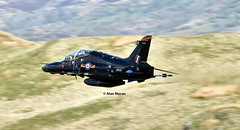 RAF Hawk T2 ZK037 (alanmoran91) Tags: raf tamron tamron150600mm tamron150600 150600mm nikon nikond7200 d7200 lowlevelflying lowflying aircraft aeroplane airplane wales hawkt2 hawk bae baehawkt2 jet