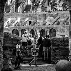 Italy 2017 (hermitsmoores) Tags: 2hosdoitaly 6x6 italy roma rome thecoliseum blackwhite bw d800 fullframe fx nikkor2870mmf28 nikon nikond800 square vacation