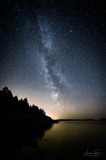 Dark Skies at Cape Porkkala