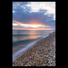 Sunset at Chesil Beach (Steve Garbutt) Tags: 2017 beach chesil chesilbeach clouds dorset england evening eveninglight pebble pebblebeach pebbles pebles summer sun sunset unitedkingdom wave waves