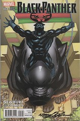 Black Panther #1NEWBURY NAdams Auto (Coppola Petersen Family History) Tags: marvel black panther tchalla neal adams autograph cover