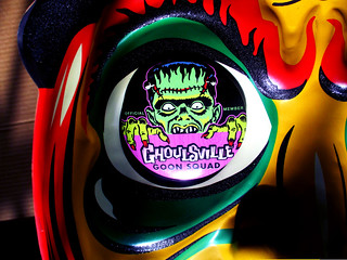 Glitter Witch Goon Squad Button Jumbo Halloween Mask 2554