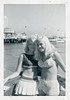 Two Girls in Swimsuits Pose, 1960s (StevenM_61) Tags: youngwomen teenagegirls swimsuits bathingsuits avalon santacatalina california 1960s foundphotograph