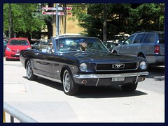 Ford Mustang Convertible, 1966 (v8dub) Tags: ford mustang convertible 1966 cabrio cabriolet schweiz suisse switzerland neuchâtel american muscle pkw pony voiture car wagen worldcars auto automobile automotive old oldtimer oldcar klassik classic collector v8