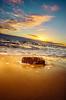 IMG_1481: Ayers Rock succumbs to rising sea levels ;) (Peter ZZZ) Tags: beach clouds elwood golden outdoors sand sigma1020mmf456exdchsm sky summer sun sunset surf waves pocketwizard tt5 tt1 580exii