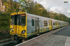 Merseyrail 508 127 (frisiabonn) Tags: wirral merseyside uk britain station brighton new rail railway merseyrail electricmultipleunit emu 508 bridge train 508127