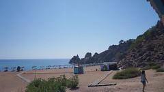 Sectiunea amenajata a plajei