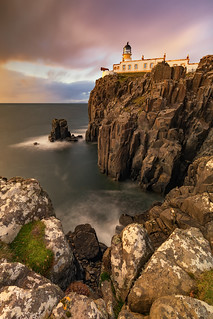 Last Throes of Light, Neist Point Lighthouse, Isle of Skye, Scotland