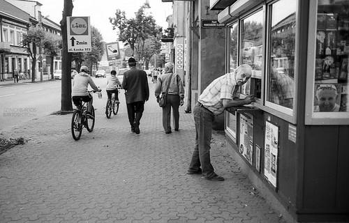 Leica M4p+Cron 35 f2 v.4 - Kodak T-max 100  - Zdunska Wola - Lipiec 2016