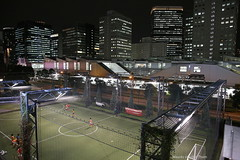 Tokyo by night (Maurits van den Toorn) Tags: tokio tkyo japan nippon voetbal fussball football office building night nightlife sport sporting citylife cityview