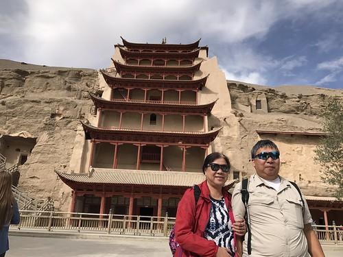 莫高窟  Mogao Grottoes  絲綢之路 第五天 16 09 2017