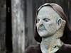 Elderly Woman at Haunted Hollow, Weyauwega, WI 10/15/2016 10:49AM (Craig Walkowicz) Tags: elderly woman weathered aged halloween decoration creepy fear eerie scary disturbing strange weird ccw