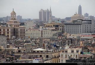 View from Fortaleza de San Carlos de la Cabaña, Havana, Cuba